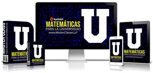 curso de matematicas para la universidad