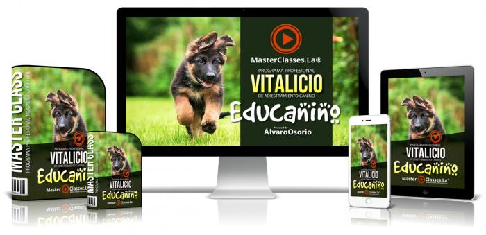 programa profesional vitalicio de adiestramiento canino - educanino